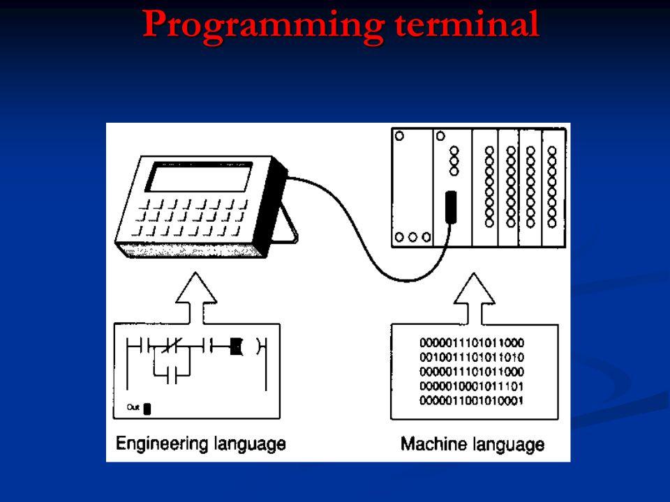 Programming terminal