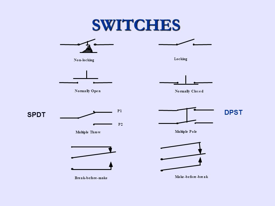 Dorable Micro Switch Symbol Mold - Electrical Wiring Diagram Ideas ...