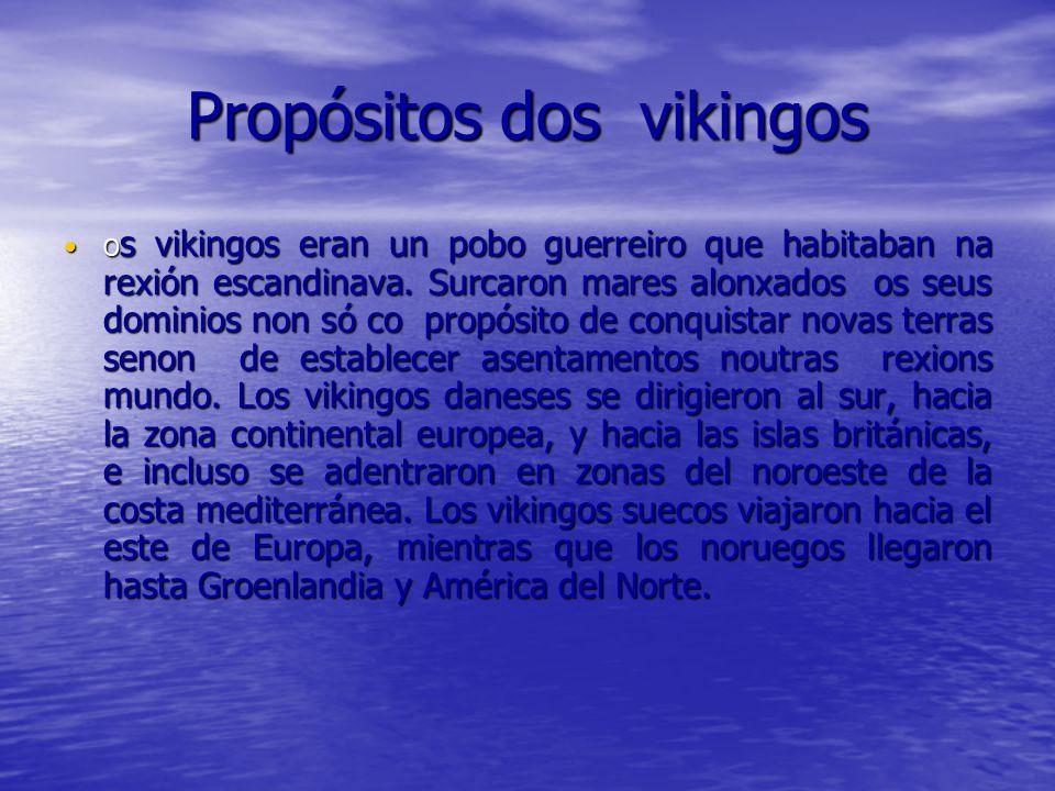 Propósitos dos vikingos