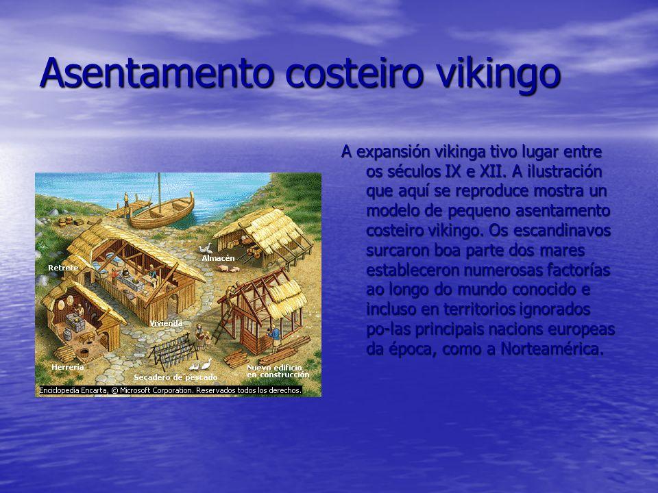 Asentamento costeiro vikingo