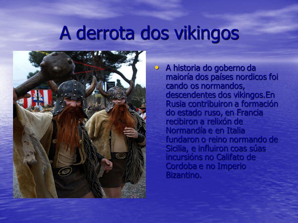 A derrota dos vikingos