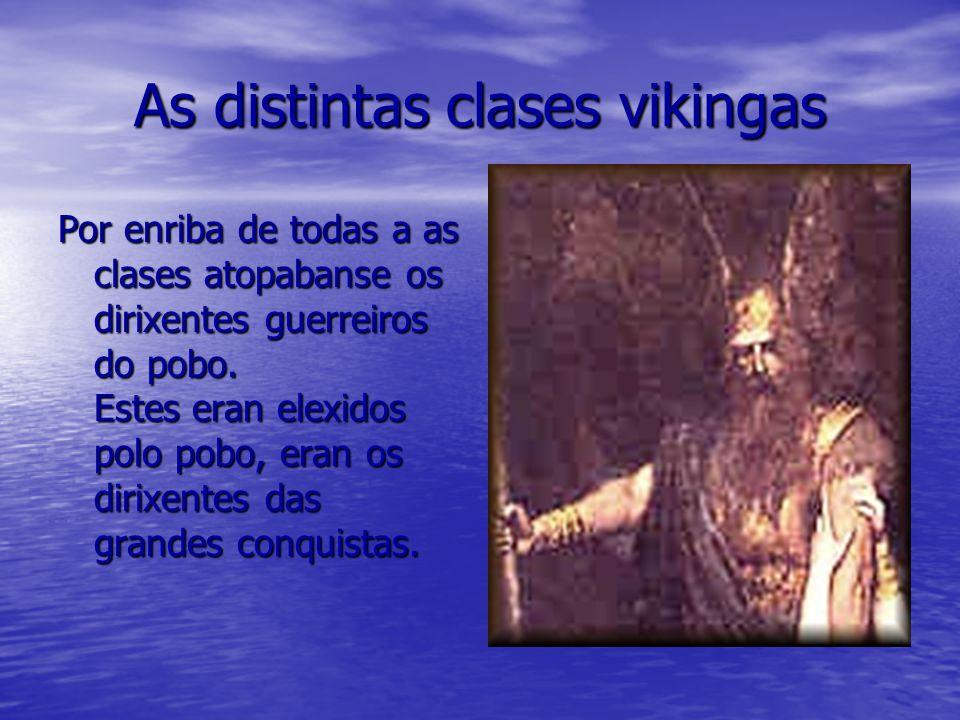 As distintas clases vikingas