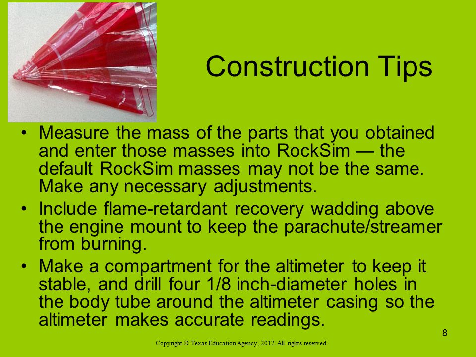Construction Tips