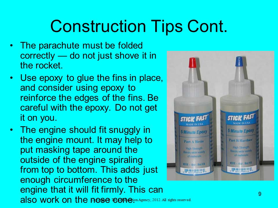 Construction Tips Cont.