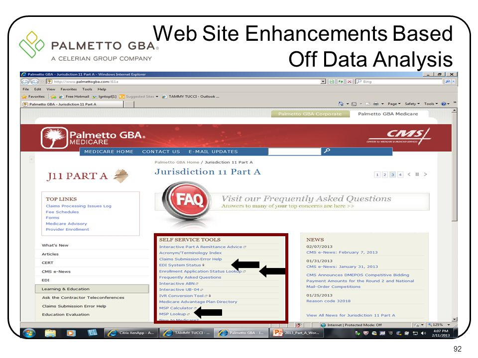 Web Site Enhancements Based Off Data Analysis