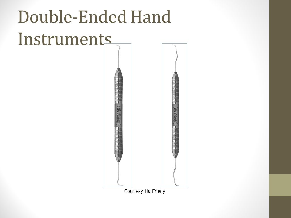 Double-Ended Hand Instruments