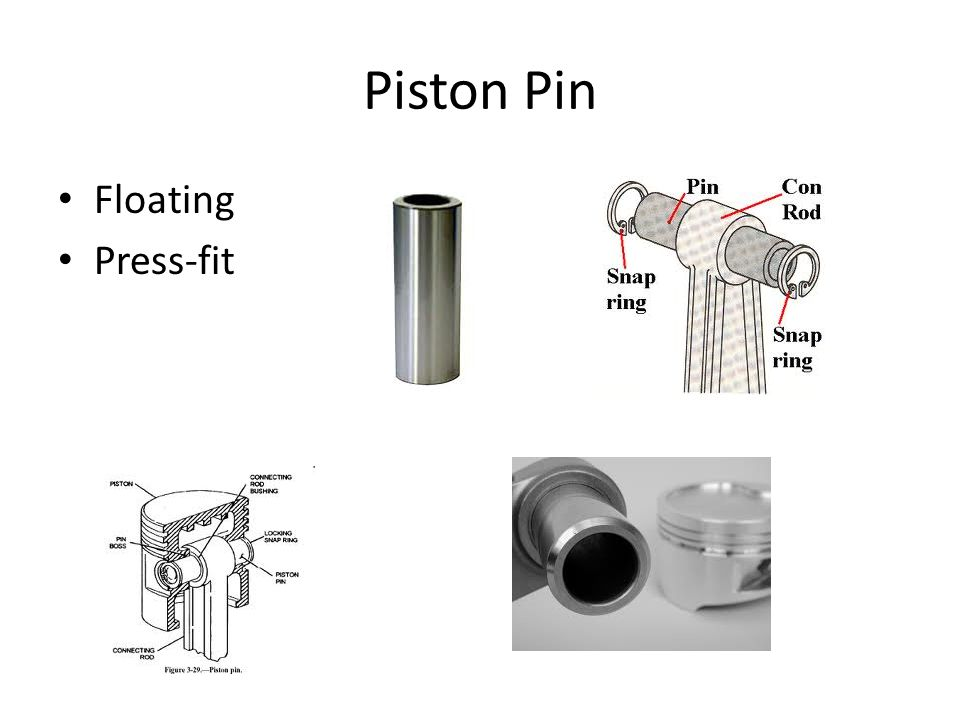Piston Pin Floating Press-fit