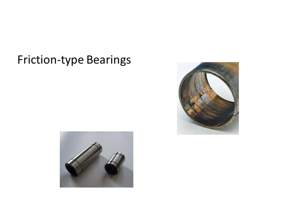 Friction-type Bearings