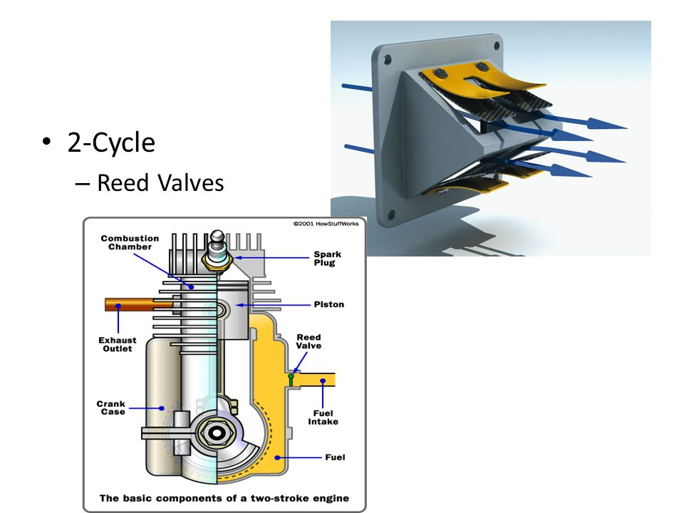 2-Cycle Reed Valves