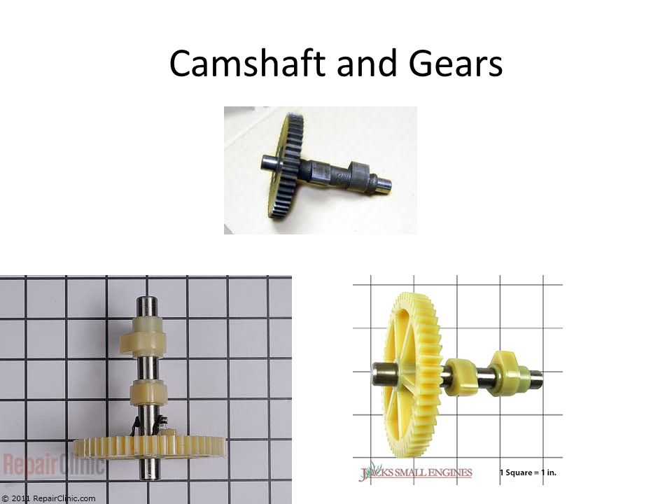 Camshaft and Gears