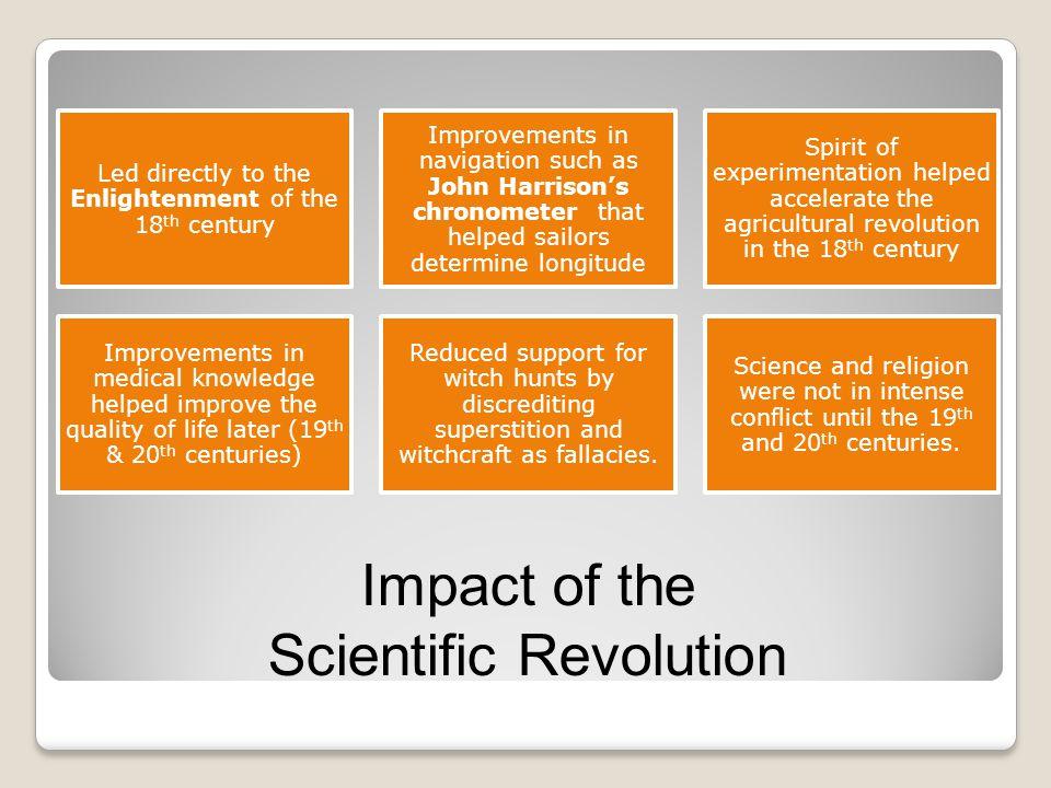 Impact of the Scientific Revolution