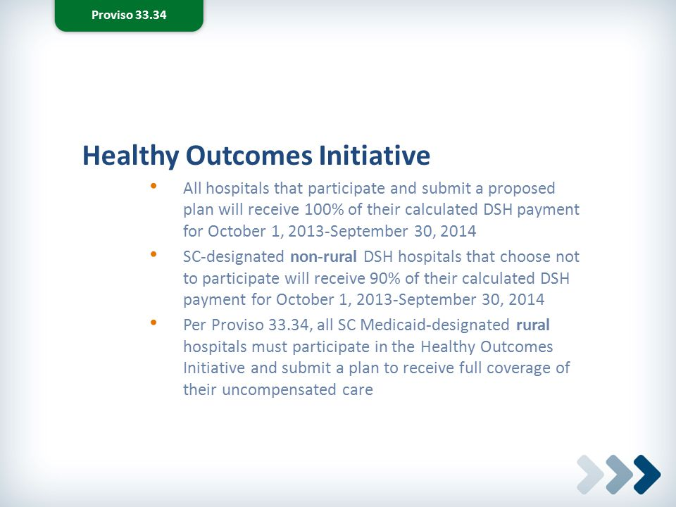Healthy Outcomes Initiative