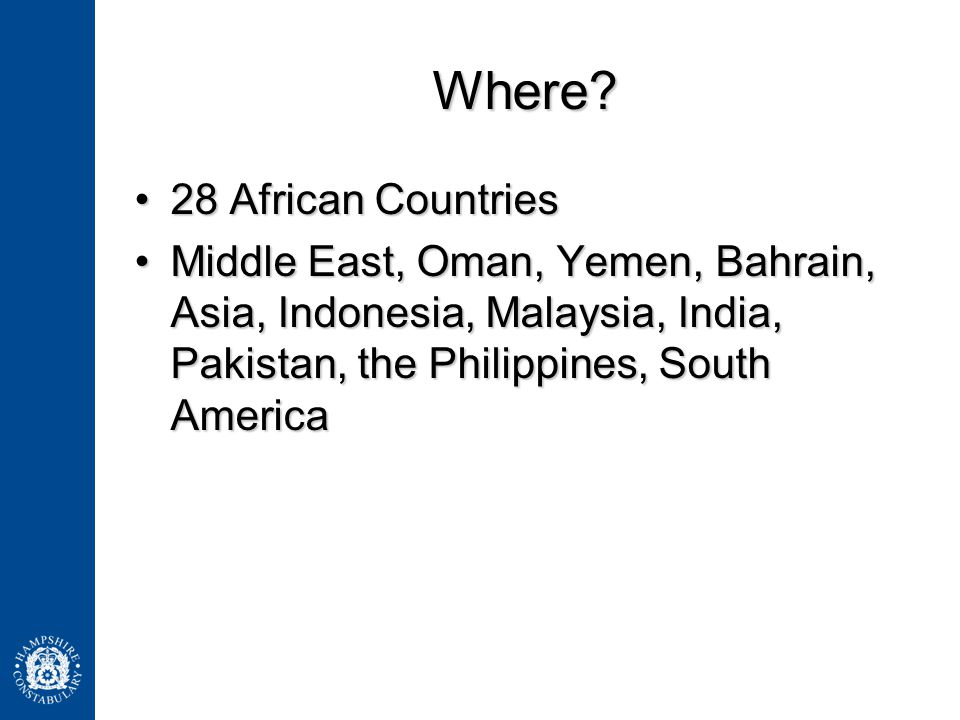 Where 28 African Countries