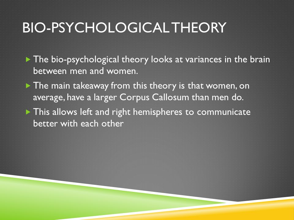 Bio-psychological Theory