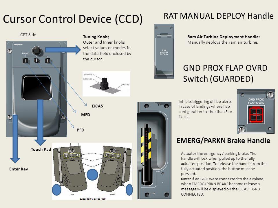 Cursor Control Device (CCD)