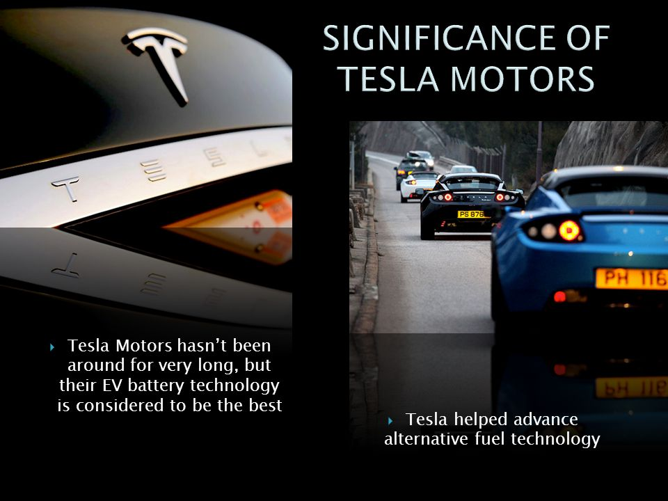 SIGNIFICANCE OF TESLA MOTORS