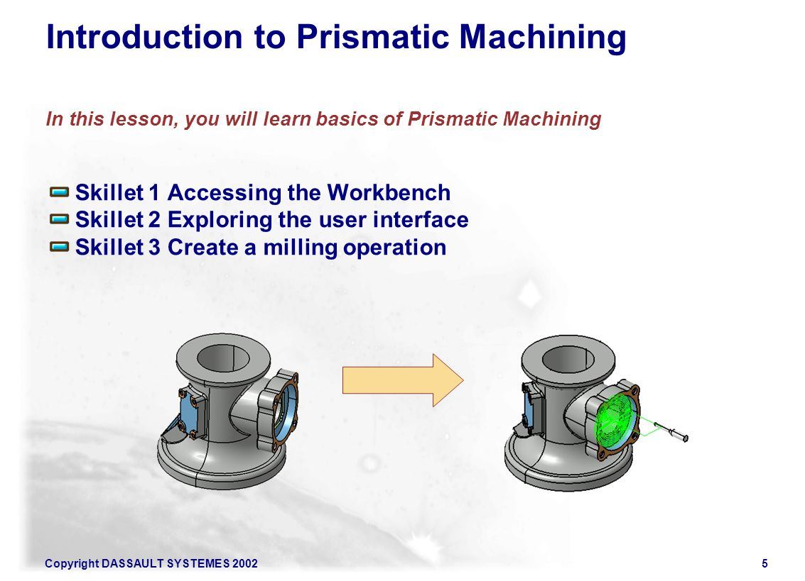 Introduction to Prismatic Machining