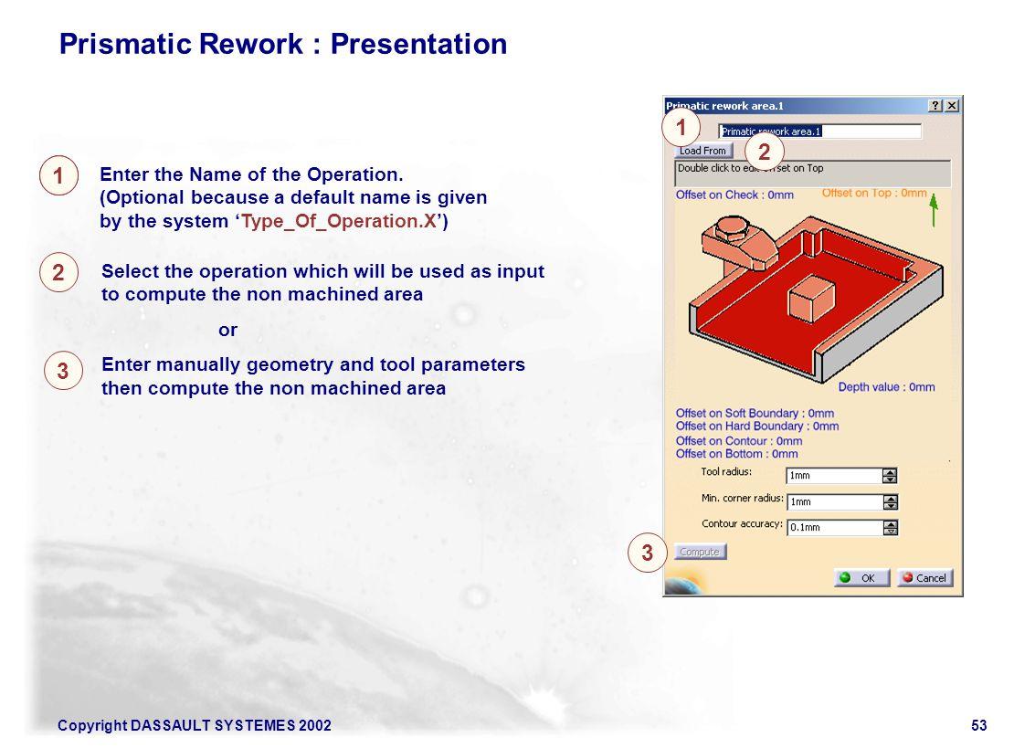 Prismatic Rework : Presentation
