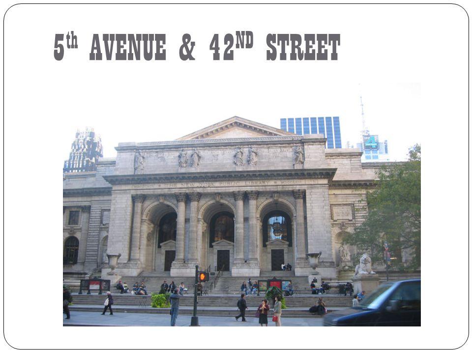 5th AVENUE & 42ND STREET