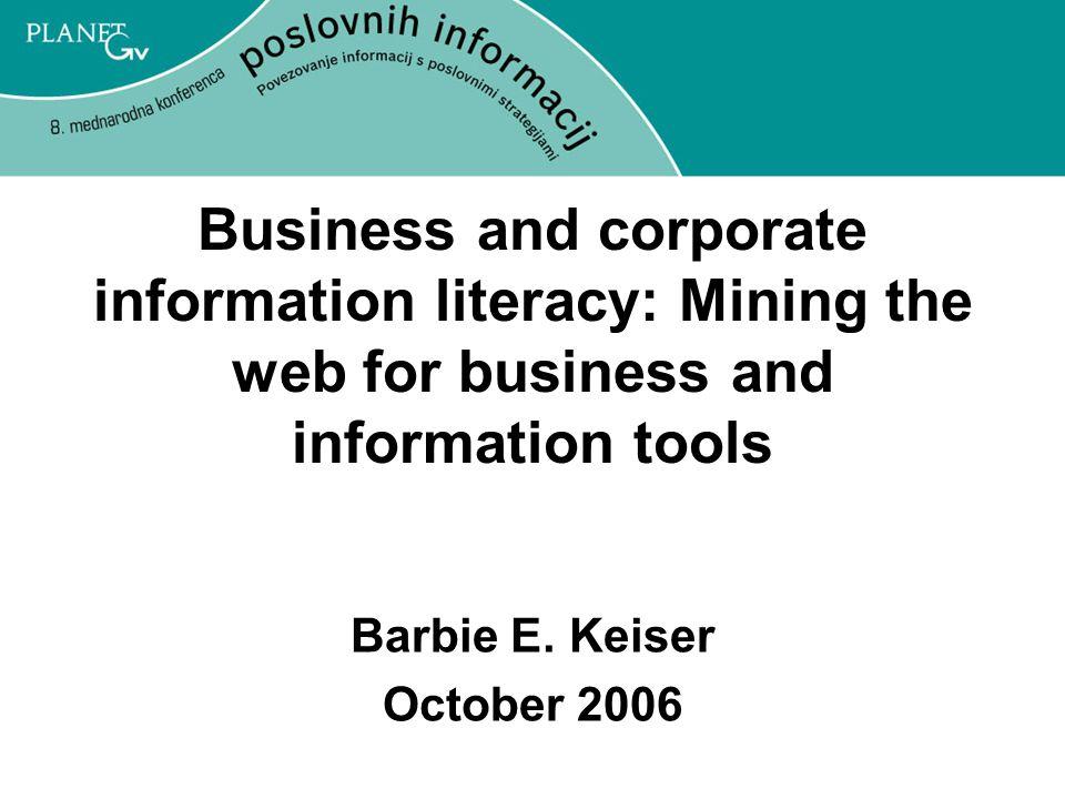 Barbie E. Keiser October 2006