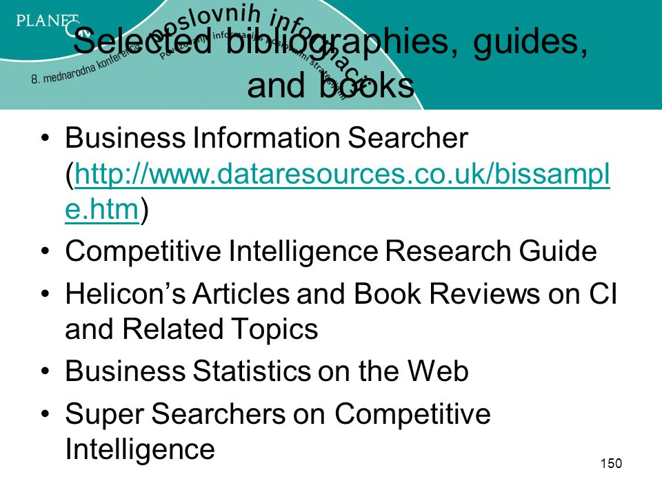 Selected bibliographies, guides, and books