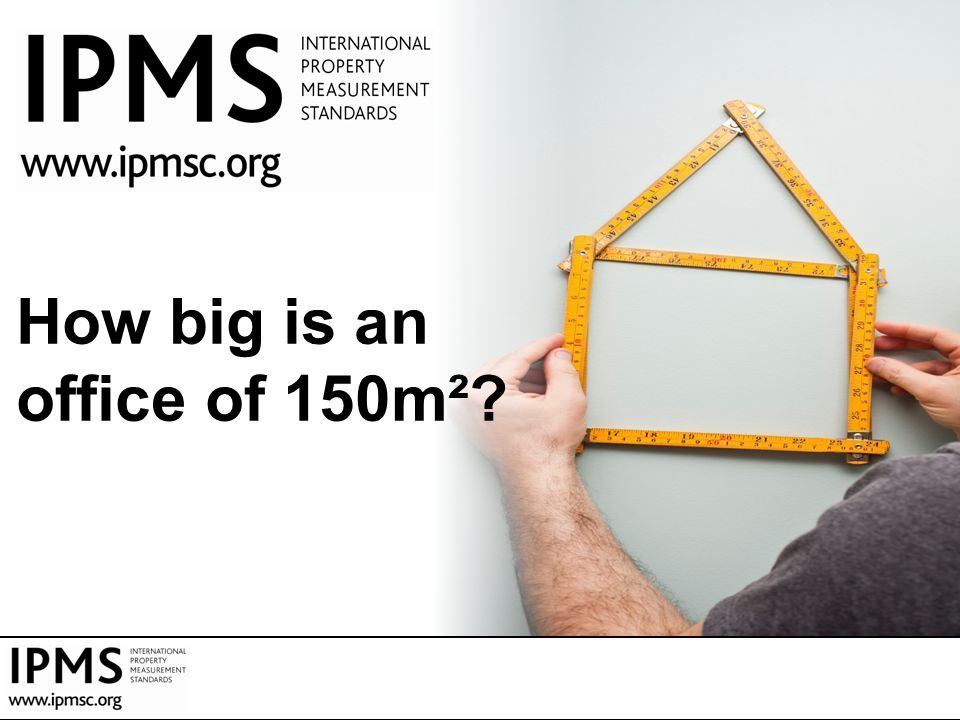 How big is an office of 150m²