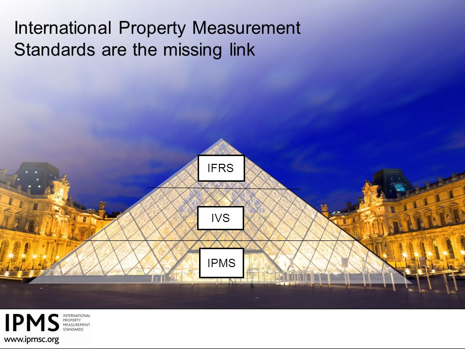 International Property Measurement Standards are the missing link