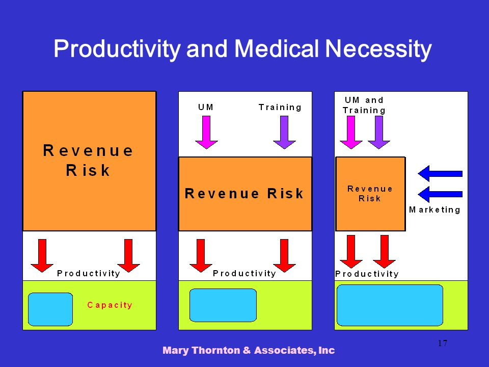 Productivity and Medical Necessity