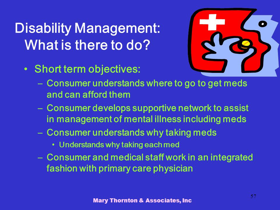 Disability Management: What is there to do