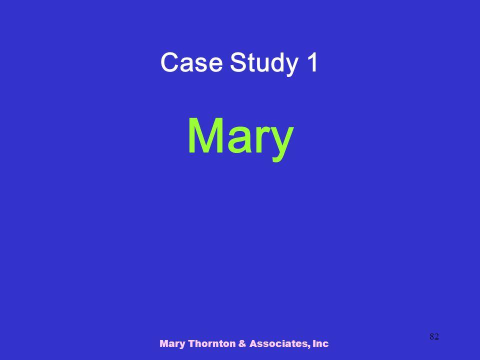 Mary Thornton & Associates, Inc