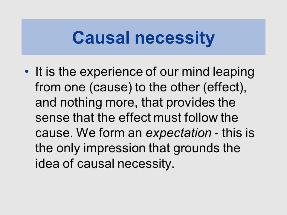 Causal necessity