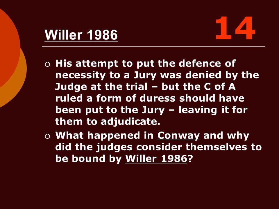 14 Willer 1986.