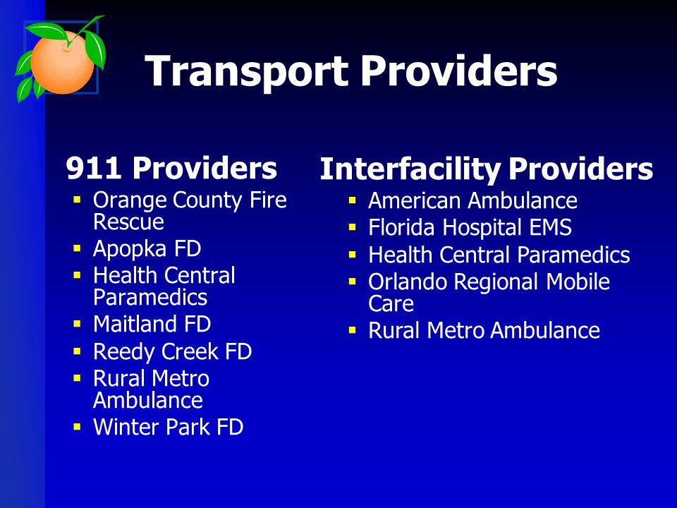 Interfacility Providers