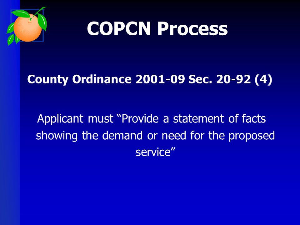 County Ordinance 2001-09 Sec. 20-92 (4)