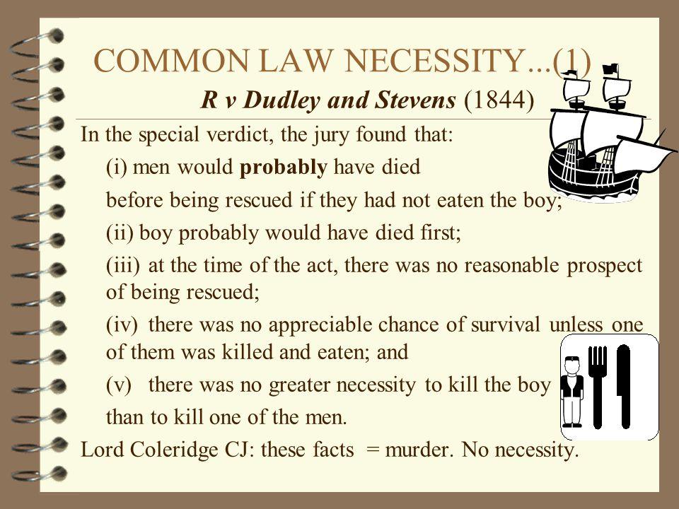 COMMON LAW NECESSITY...(1)