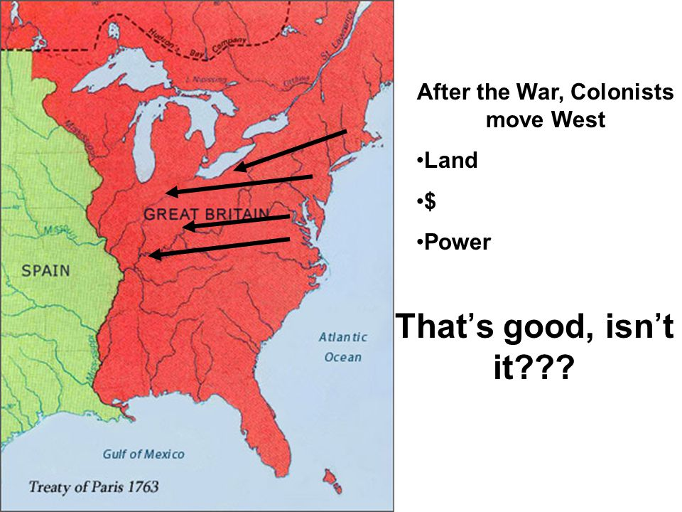 After the War, Colonists move West