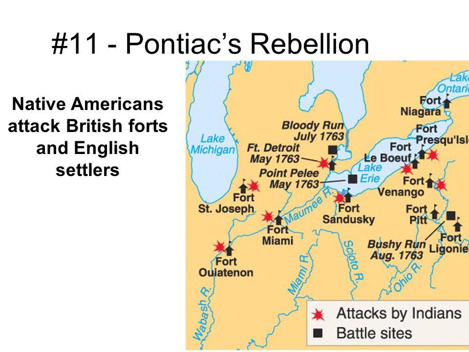 #11 - Pontiac's Rebellion