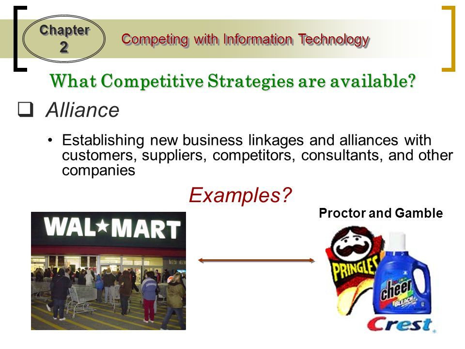 What Competitive Strategies are available