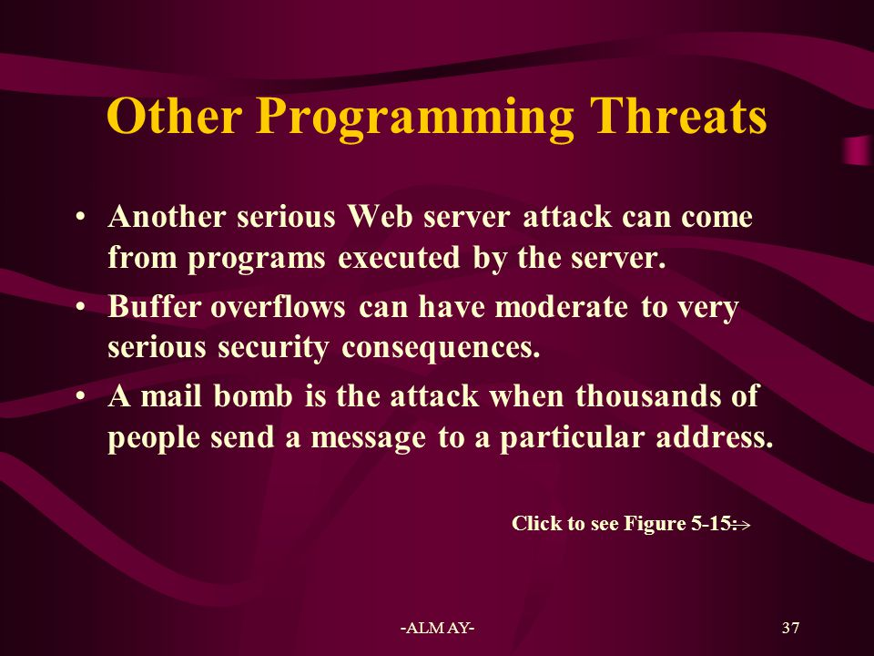 Other Programming Threats