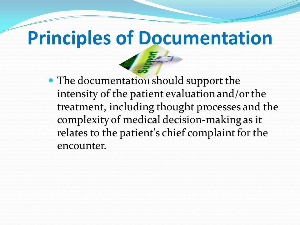 Principles of Documentation