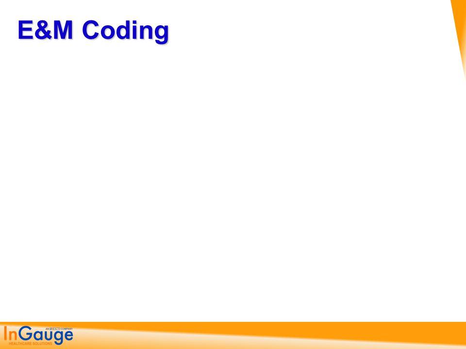 E&M Coding