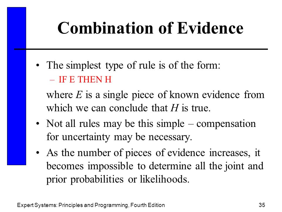 Combination of Evidence