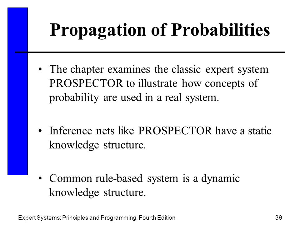 Propagation of Probabilities