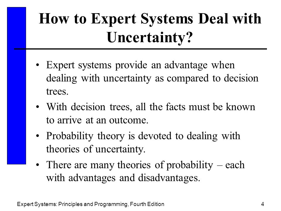 How to Expert Systems Deal with Uncertainty
