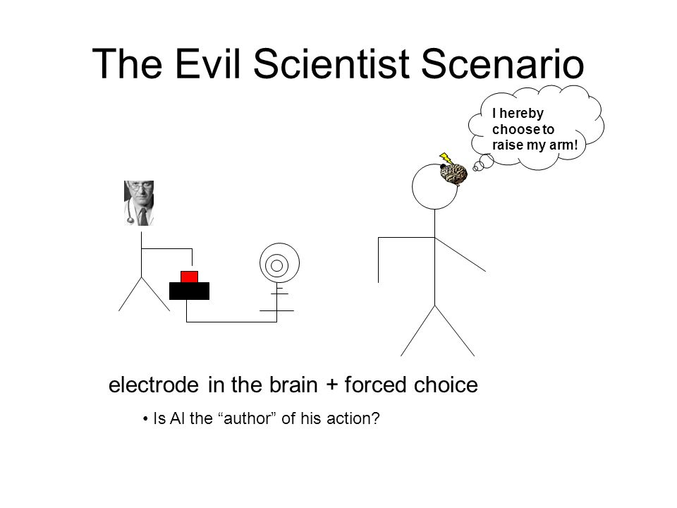 The Evil Scientist Scenario