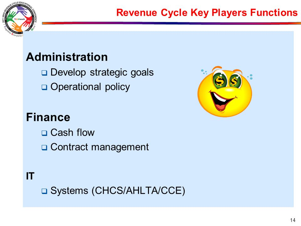 Revenue Cycle Key Players Functions