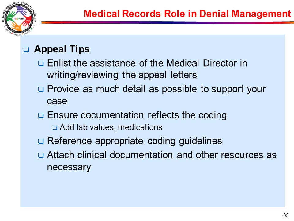 Medical Records Role in Denial Management