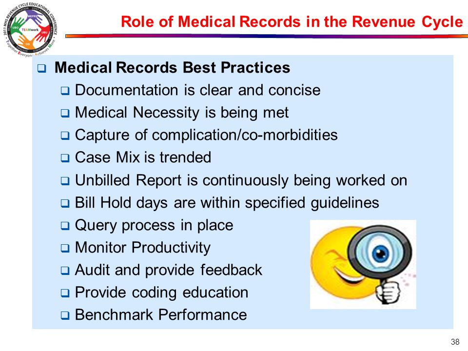Role of Medical Records in the Revenue Cycle