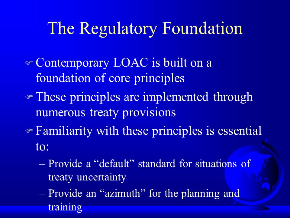 The Regulatory Foundation