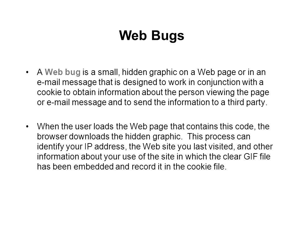 Web Bugs